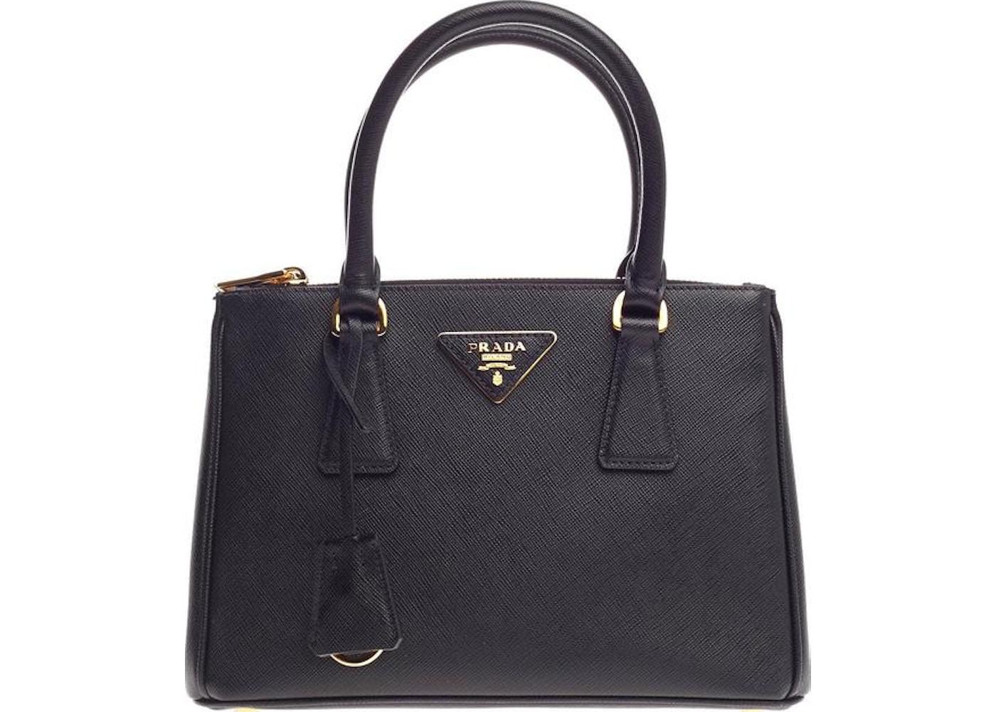 f97c8334823a Prada Galleria Tote Saffiano Small Nero Black. Saffiano Small Nero Black