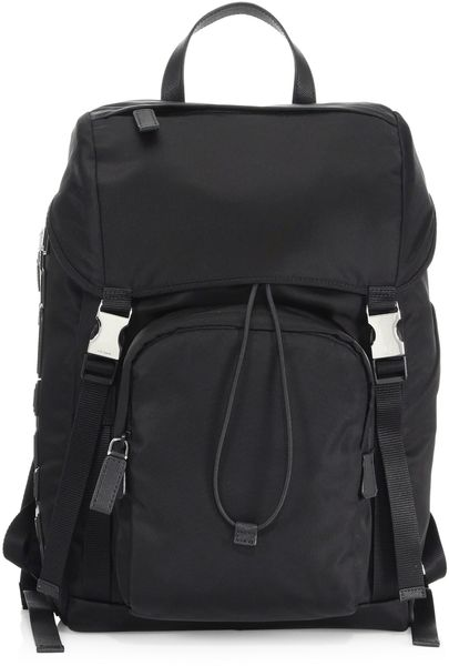 a2992181b9247f ... greece prada vela zaino backpack black 0f4a1 ebae0