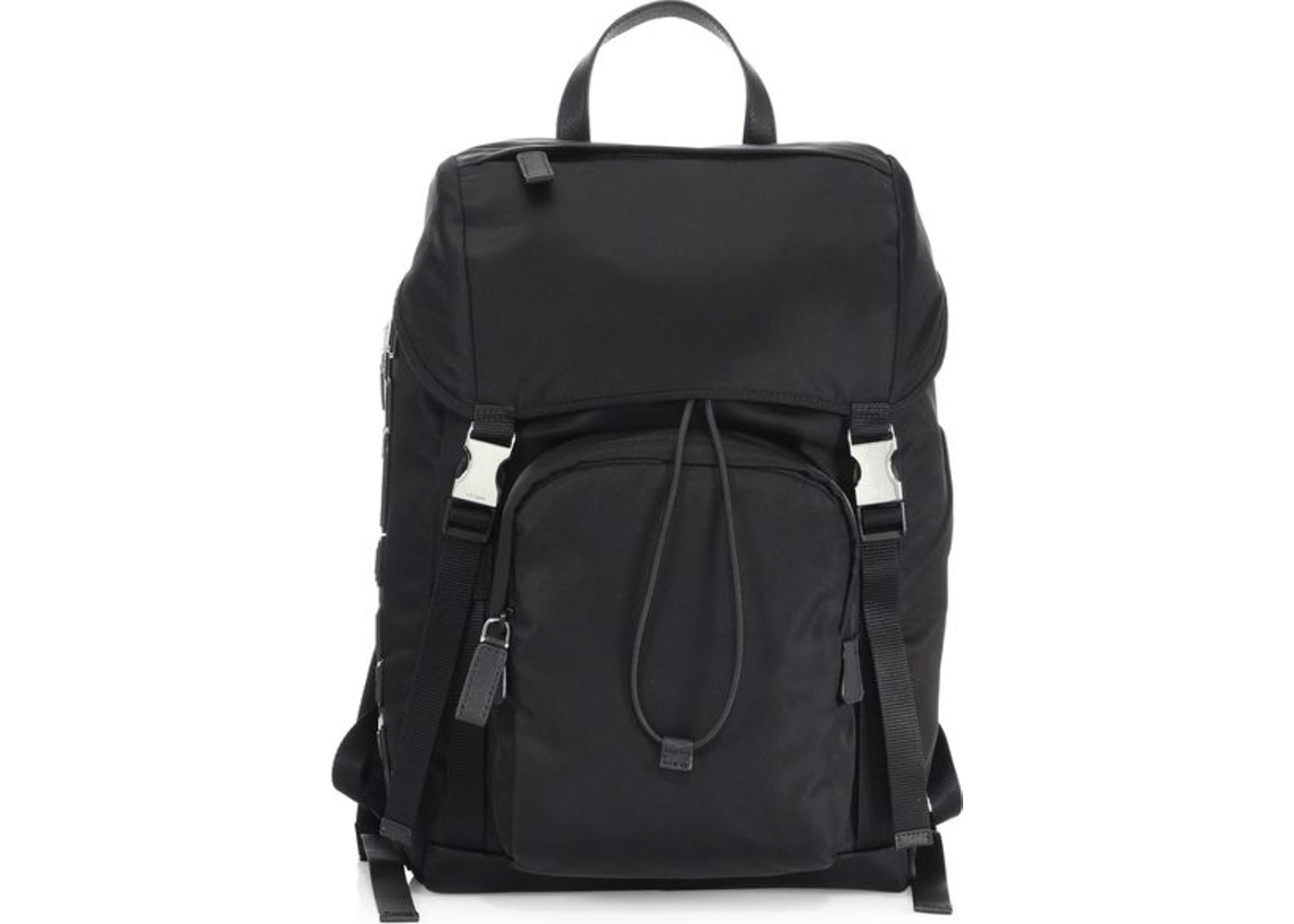 cc1a539e387129 Sell. or Ask. View All Bids. Prada Vela Zaino Backpack Black
