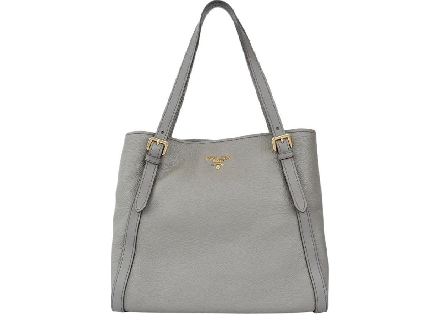 961be2aa184a Sell. or Ask. View All Bids. Prada Vitello Phenix Tote Bag Gray