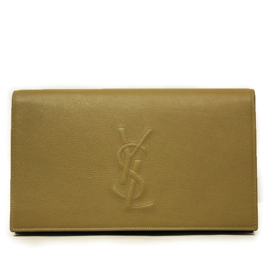Saint Laurent Belle De Jour Clutch Beige