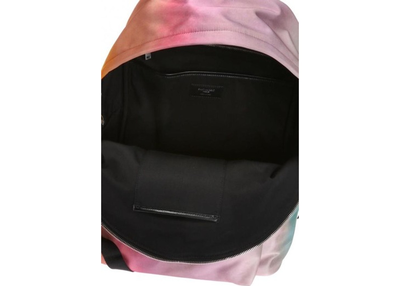 35330b6c Saint Laurent City Backpack Tie Dye Large Multicolor