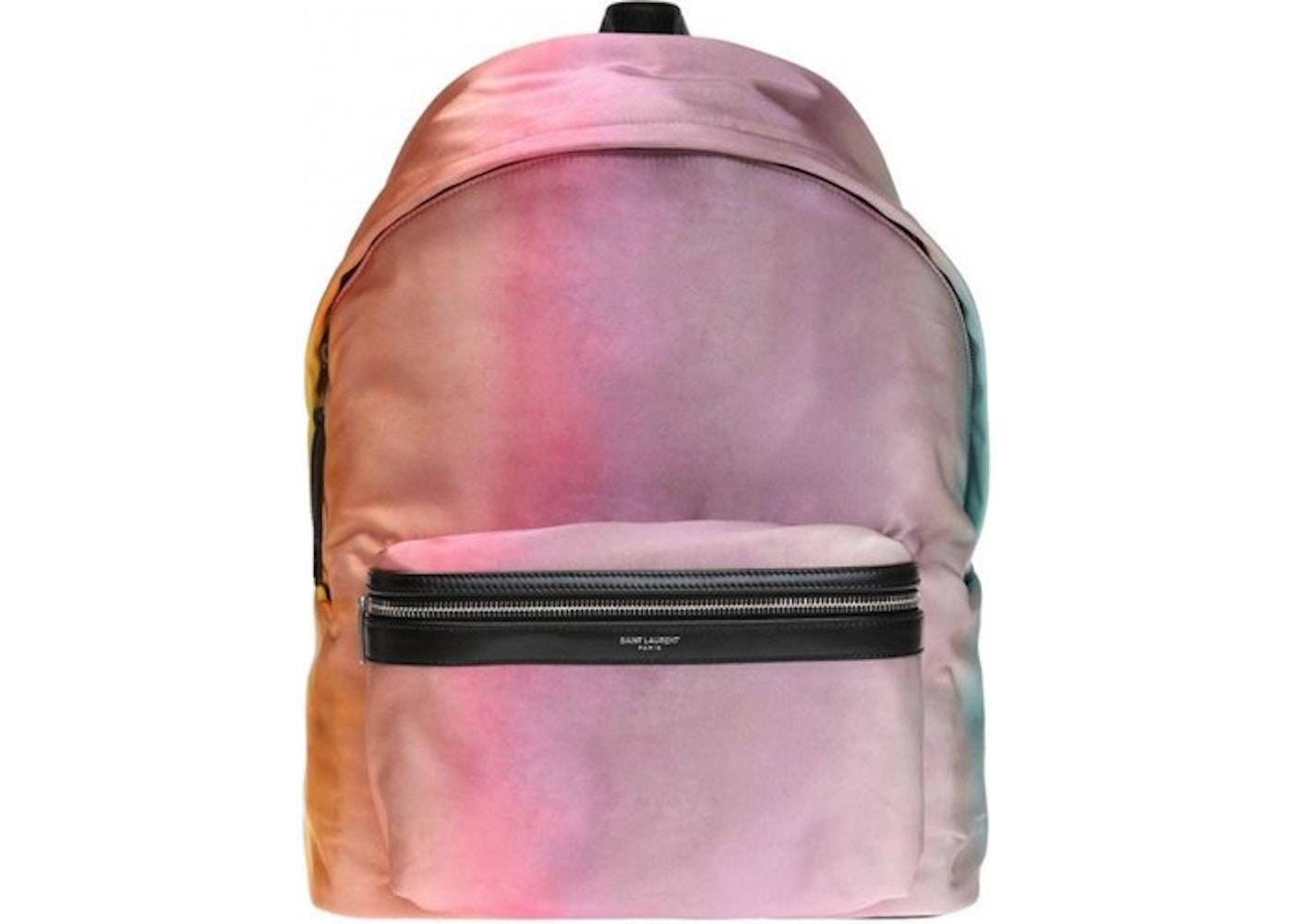 0f3ce71b Saint Laurent City Backpack Tie Dye Large Multicolor. Tie Dye Large  Multicolor
