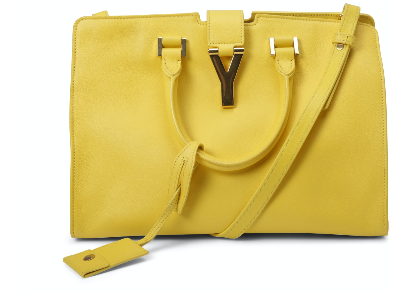 7456f9b237 Saint Laurent Classic Cabas Y Top Handle Small Yellow. Small Yellow