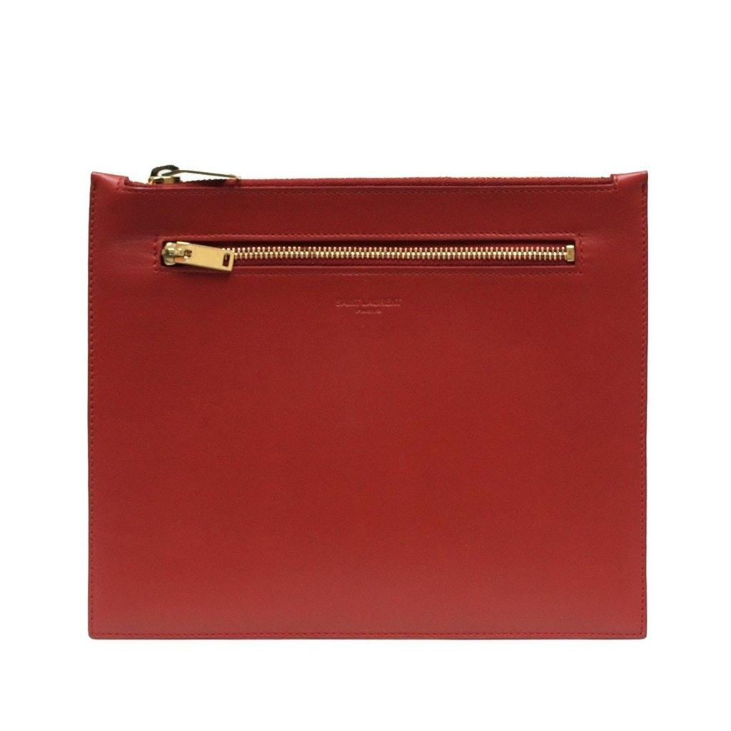 Saint Laurent Classic Document Holder Lipstick Red