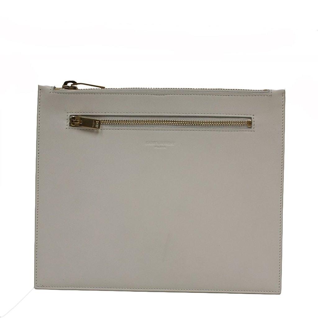 Saint Laurent Classic Document Holder Off-White