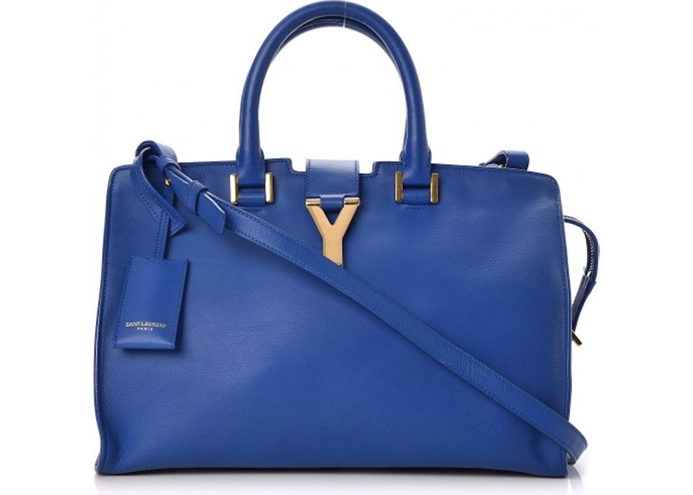 97540b0e07 Saint Laurent Classic Y Cabas Small Royal Blue. Small Royal Blue