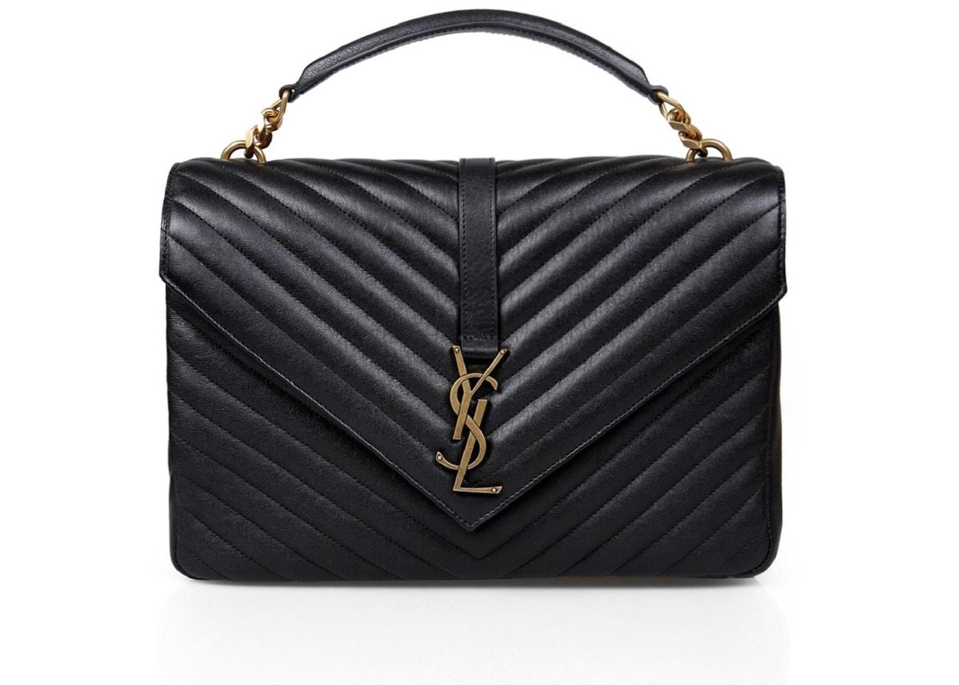 Saint Laurent Monogram Matelasse Chain-Strap Shoulder Bag
