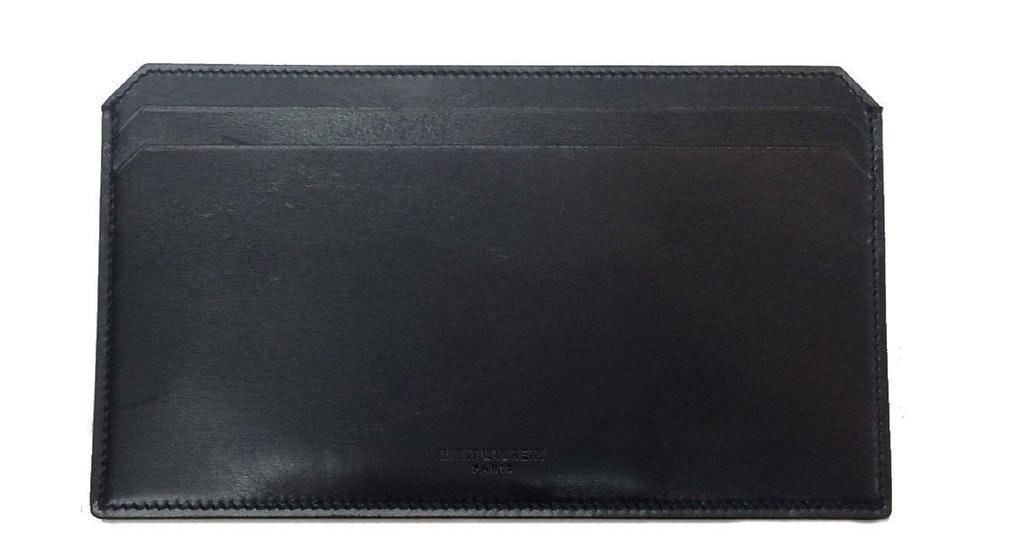Saint Laurent Document Holder Wallet Long Black