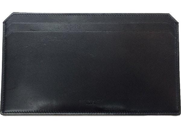 2422e3d47c Saint Laurent Document Holder Wallet Long Black