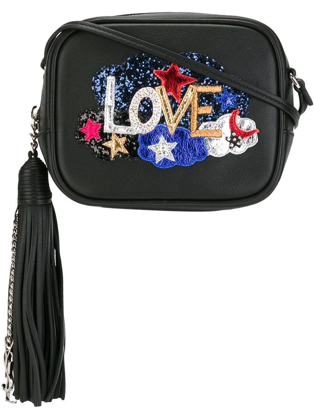 Saint Laurent Monogram Love Blogger Glitter Black/Multicolor