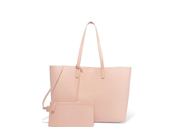 8c69bfd91852 Saint Laurent Shopping Tote (With Pouch) Large Blush