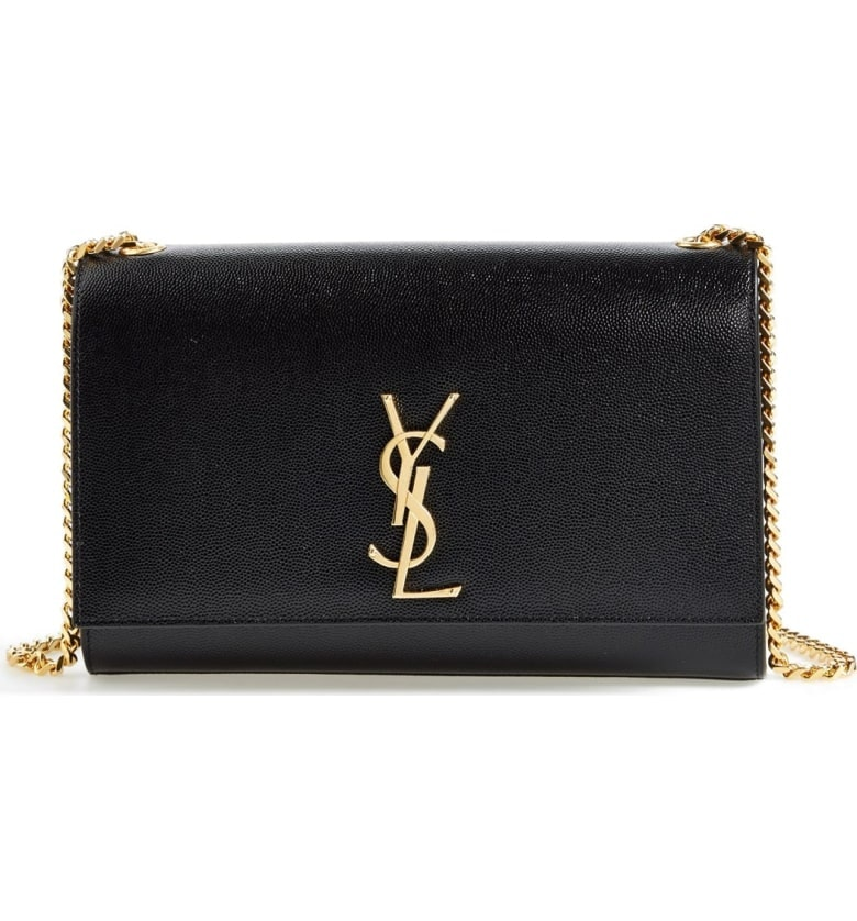 Saint Laurent Shoulder Bag Kate YSL Medium Black