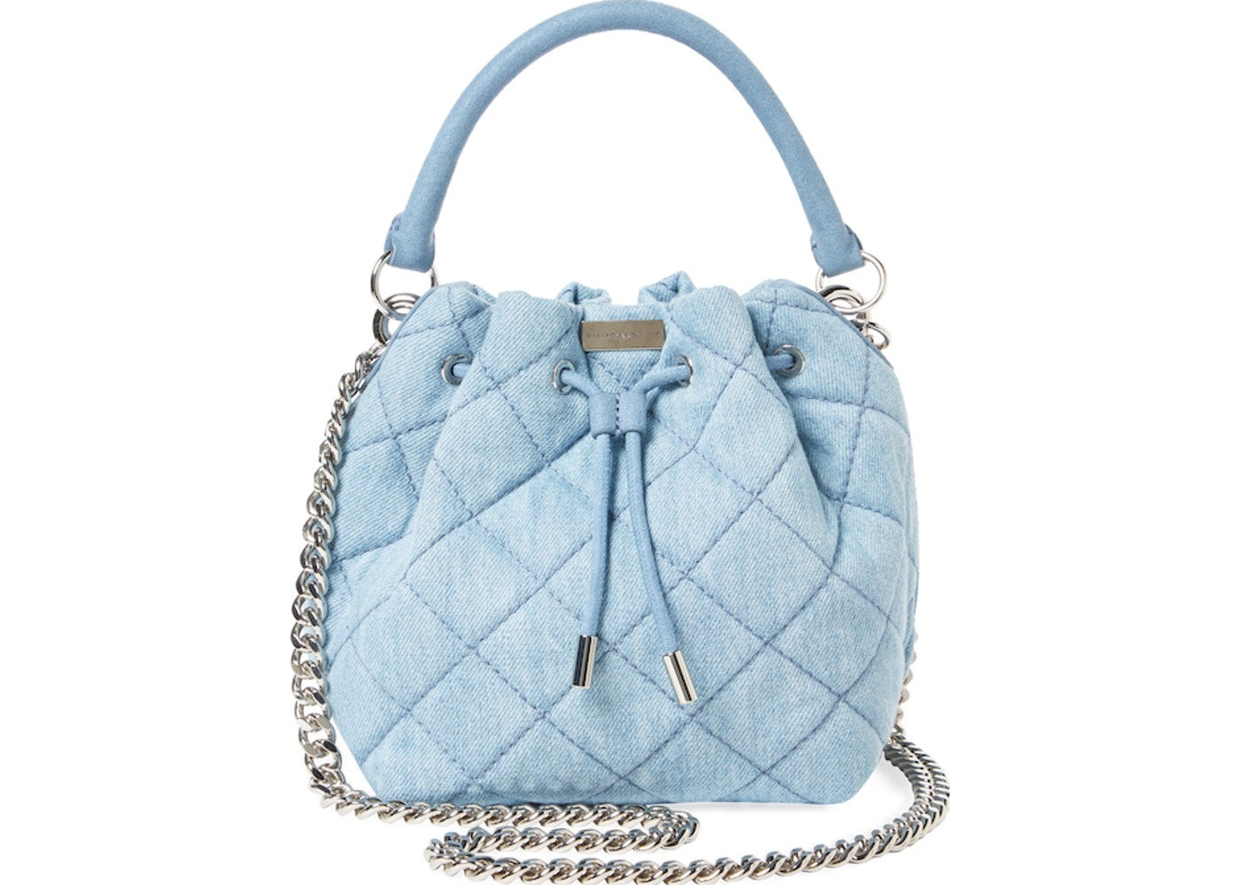 ddfea9cb7471 Stella McCartney Bucket Bag Falabella Quilted Blue. Quilted Blue