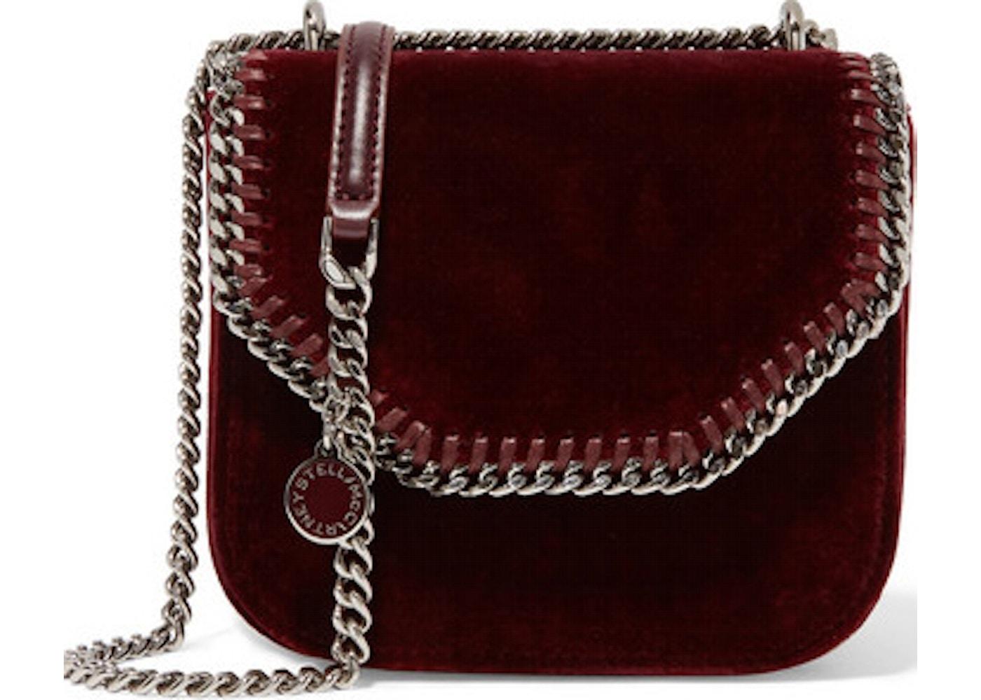 925dd57821 Stella McCartney Shoulder Bag Falabella Box Mini Burgundy. Box Mini Burgundy