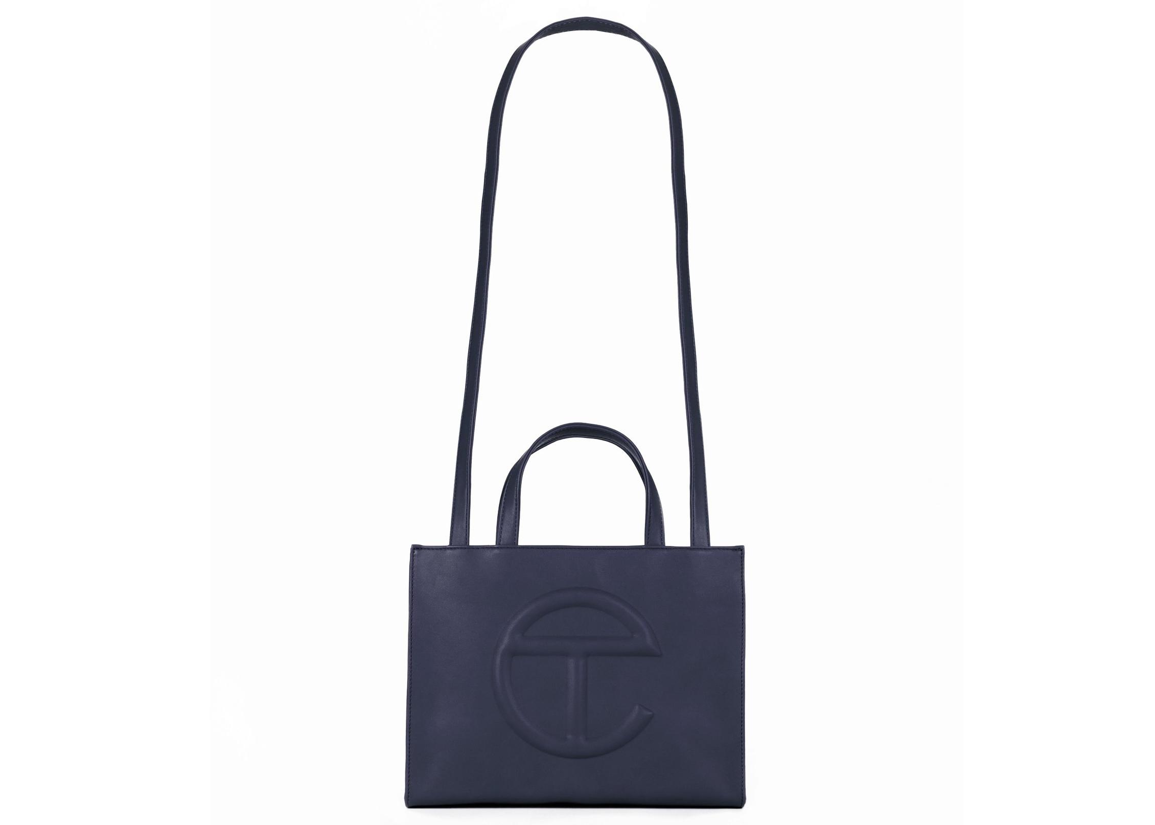 Telfar Shopping Bag Medium Navy