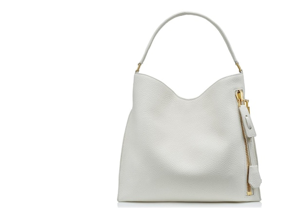 Tom Ford Alix Hobo Bag Small Chalk 1cdad465a703b