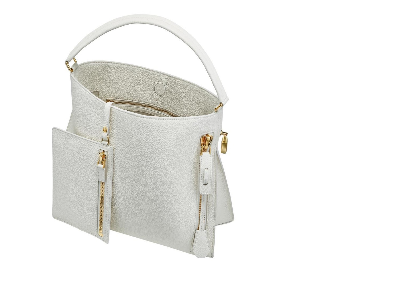 4f507a4c1 Tom Ford Alix Hobo Bag (With Pouch) Small Chalk. (With Pouch) Small Chalk
