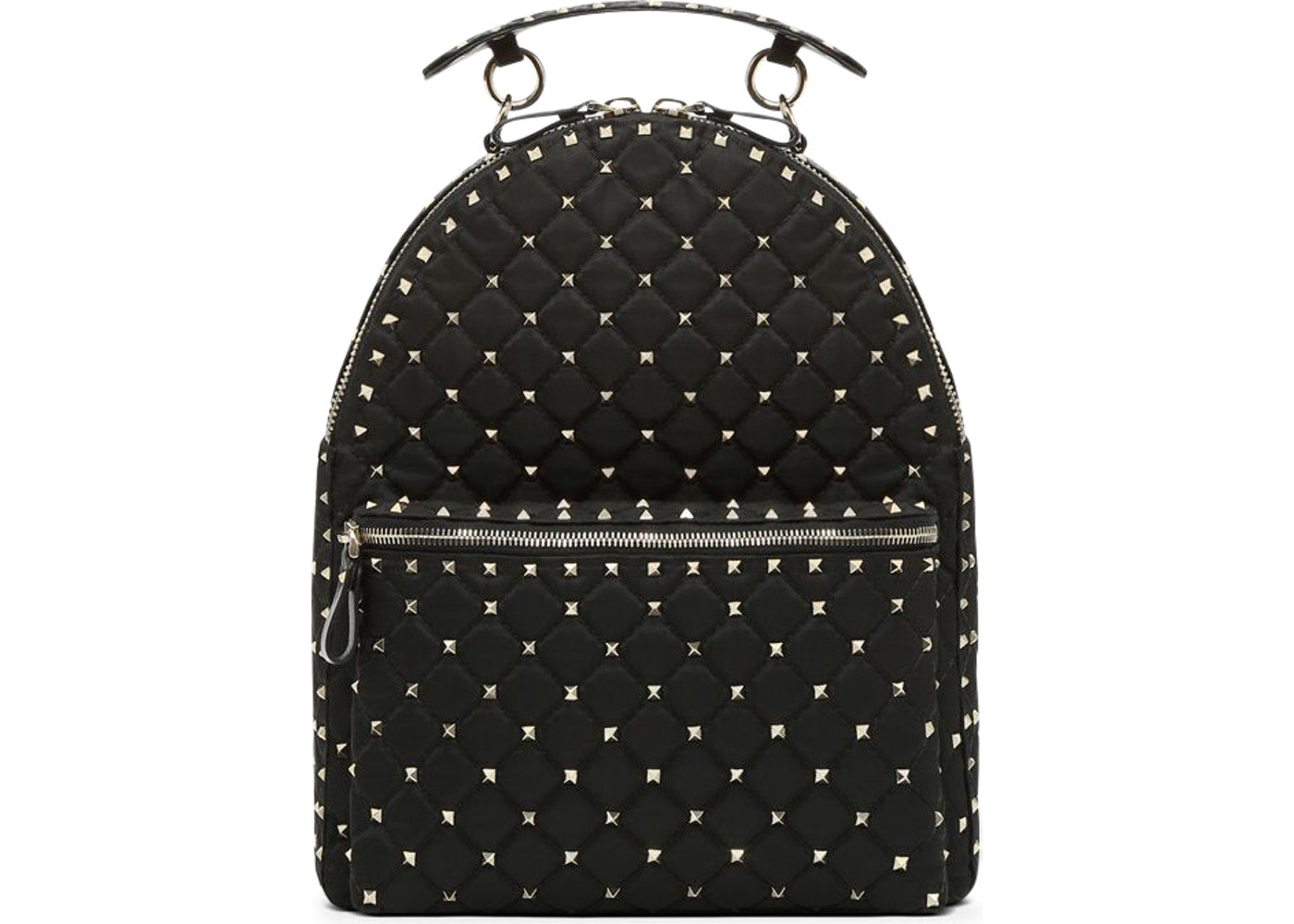 4279cb9639 Valentino Garavani Free Rockstud Spike Large Leather Shoulder Bag -   Source. Valentino Rockstud Spike Backpack Nylon Black