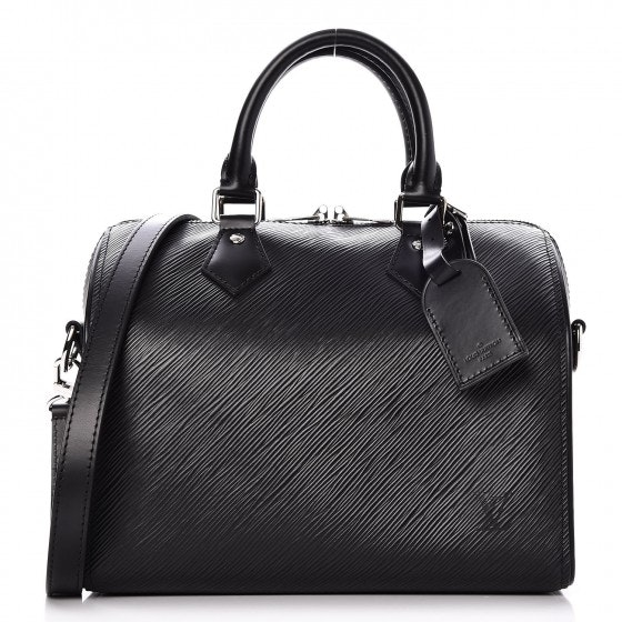Louis Vuitton Speedy Bandouliere Epi 25 Black