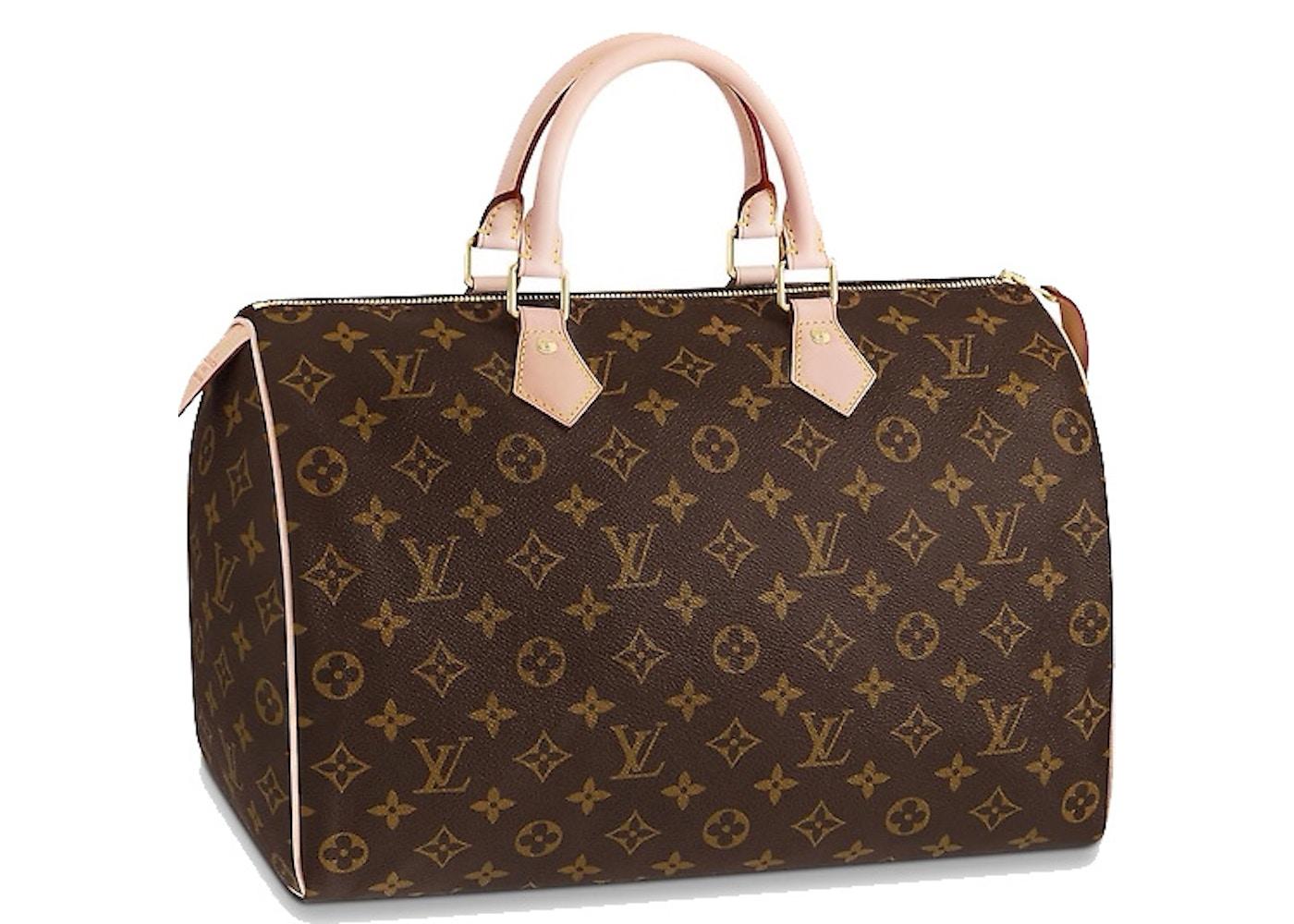 71c4aeb60bc9 Louis Vuitton Speedy Monogram 35 Brown. Monogram 35 Brown