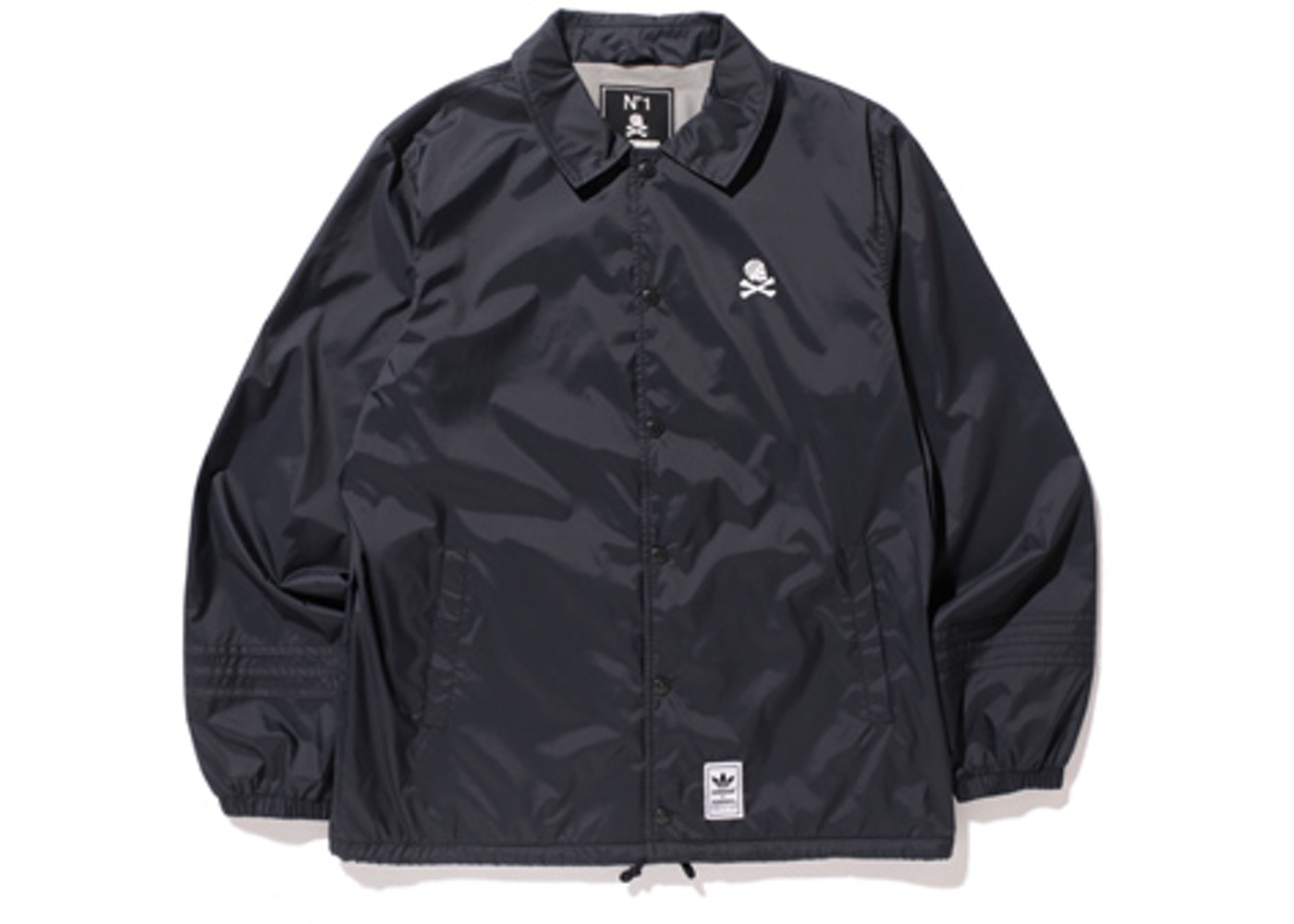 adidas Neighborhood Coach Jacket Black FW15