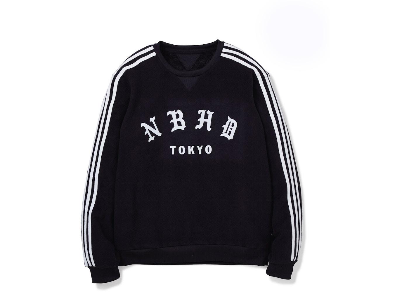 522b07bb55f adidas Neighborhood Crewneck Sweatshirt Black