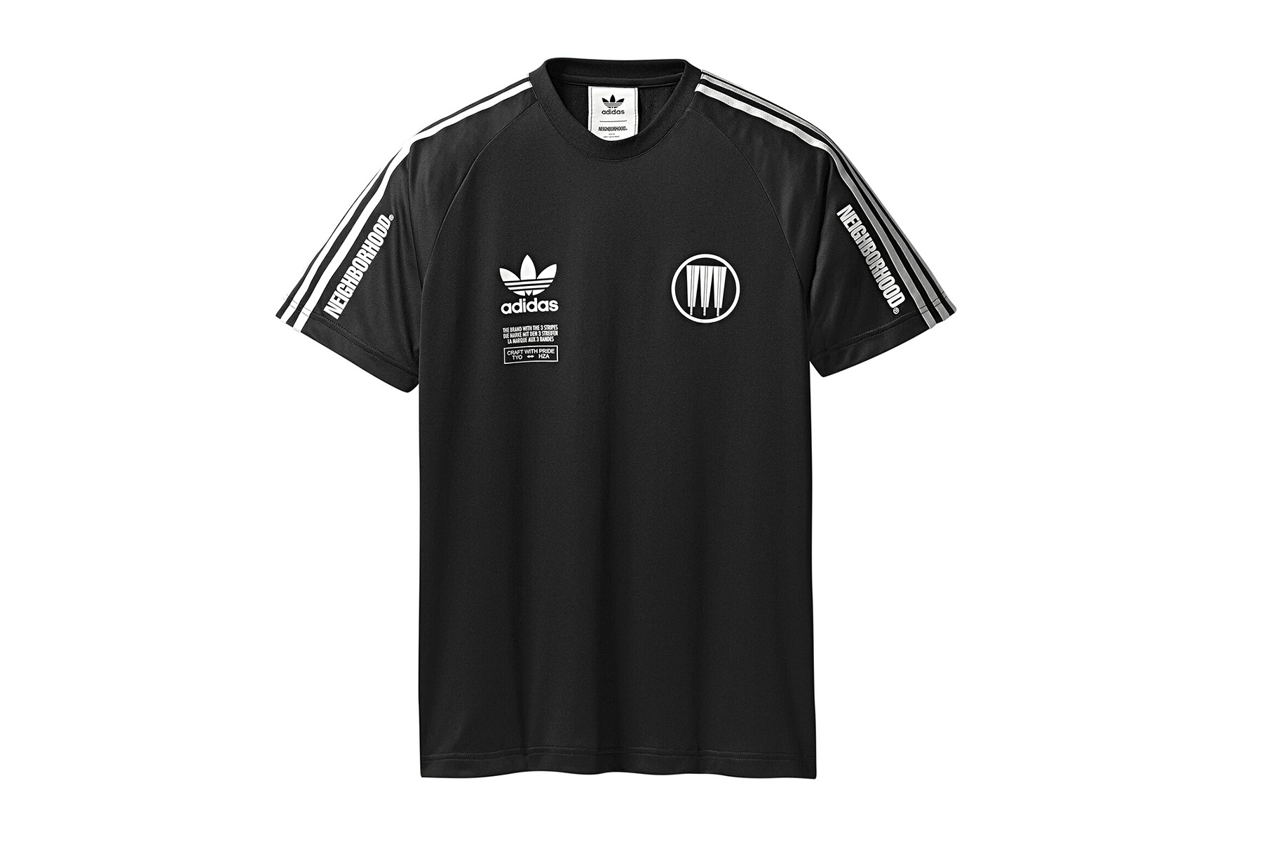 adidas black jersey