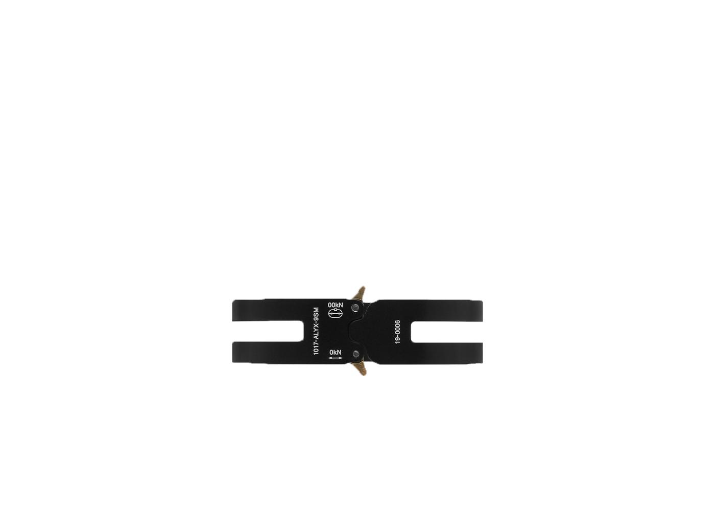 Alyx Rollercoaster Track Bracelet Black