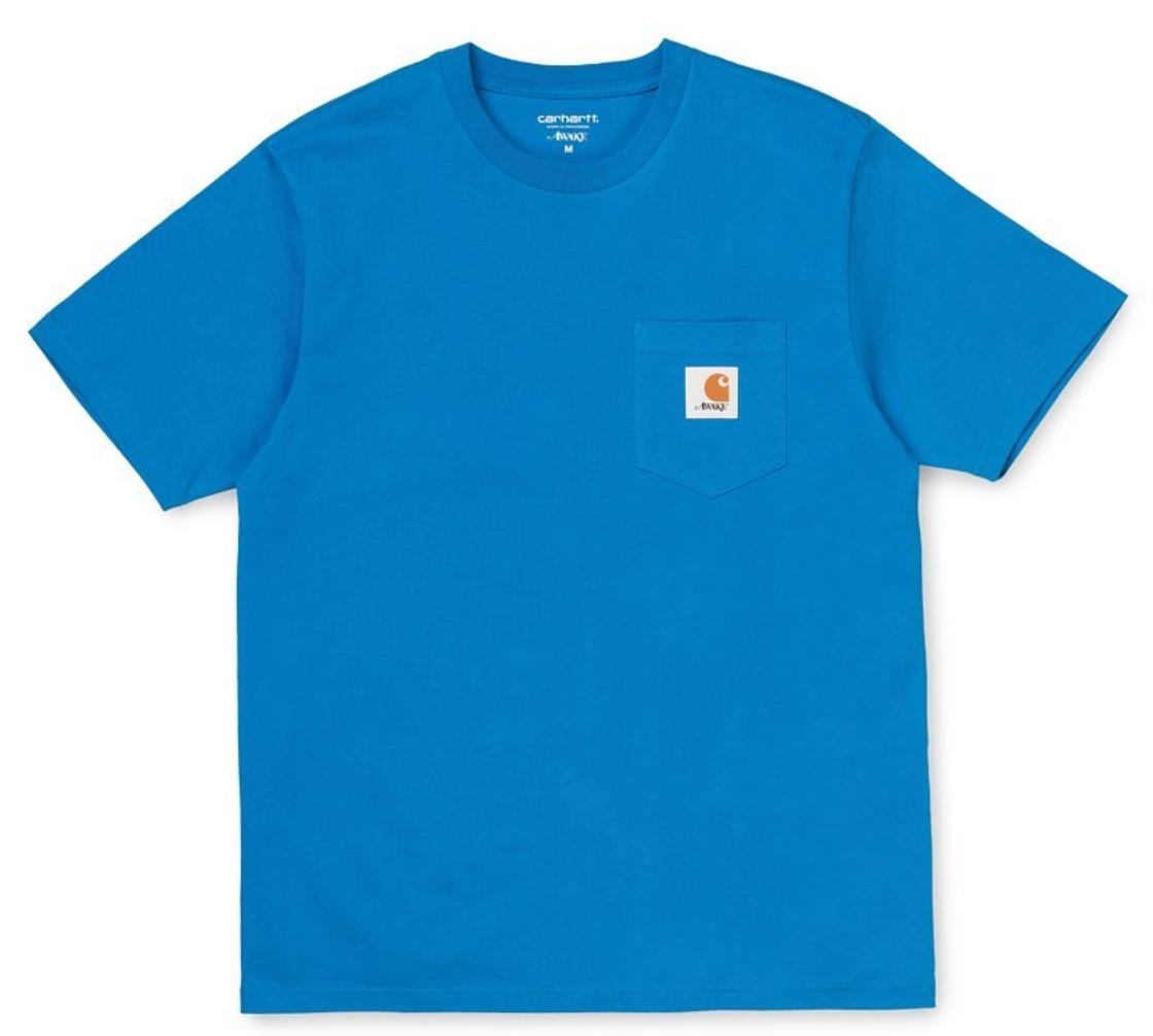 Awake X Carhartt Wip T-shirt Blue