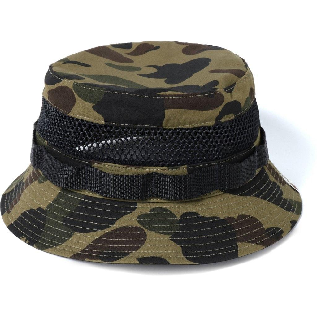 BAPE 1st Camo Military Mesh Hat Green