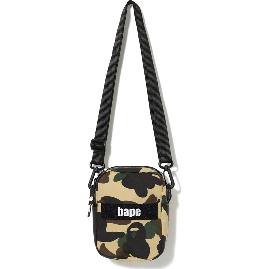 BAPE 1st Camo Military Shoulder Bag Yellow