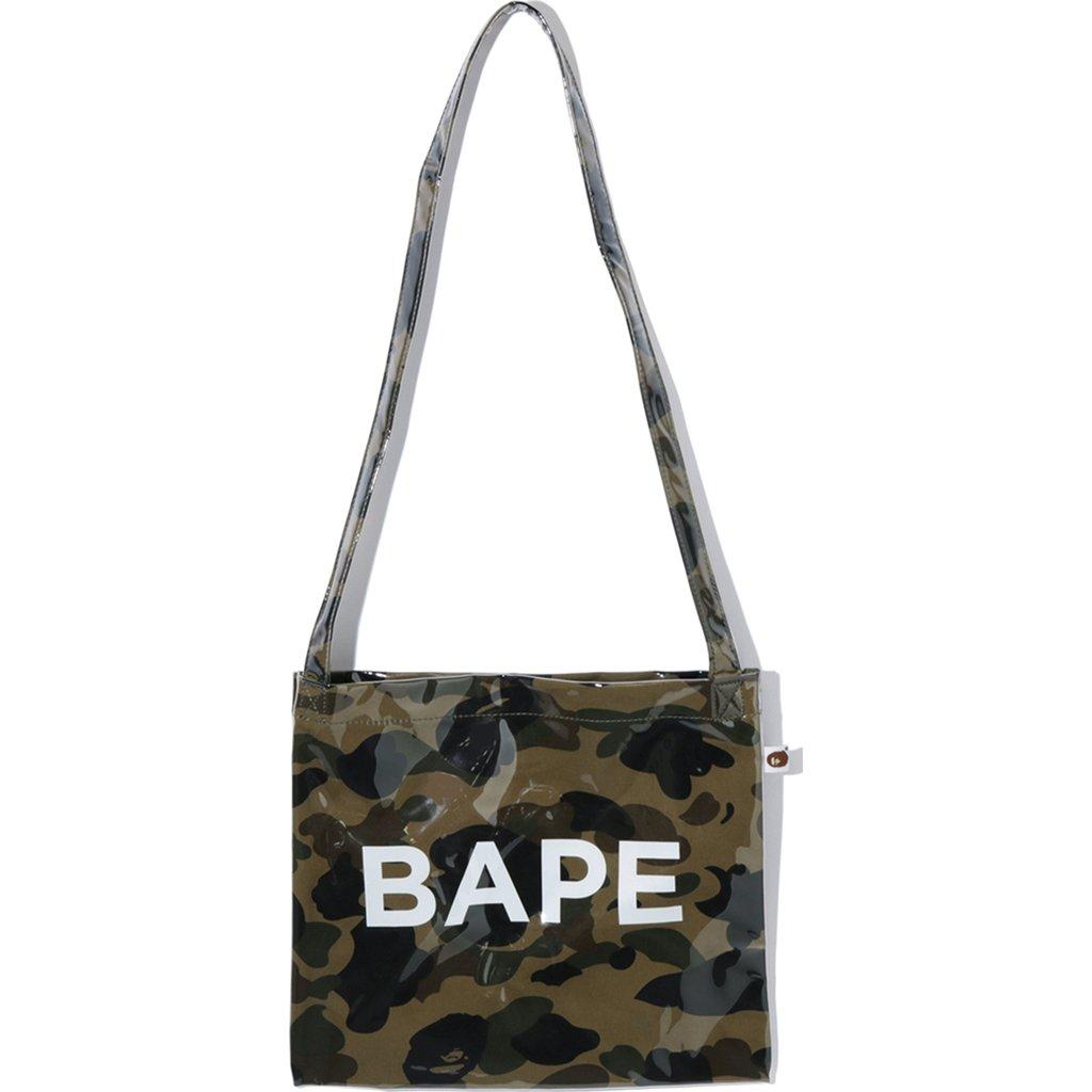 Bape 1st Camo Shoulder Bag Green