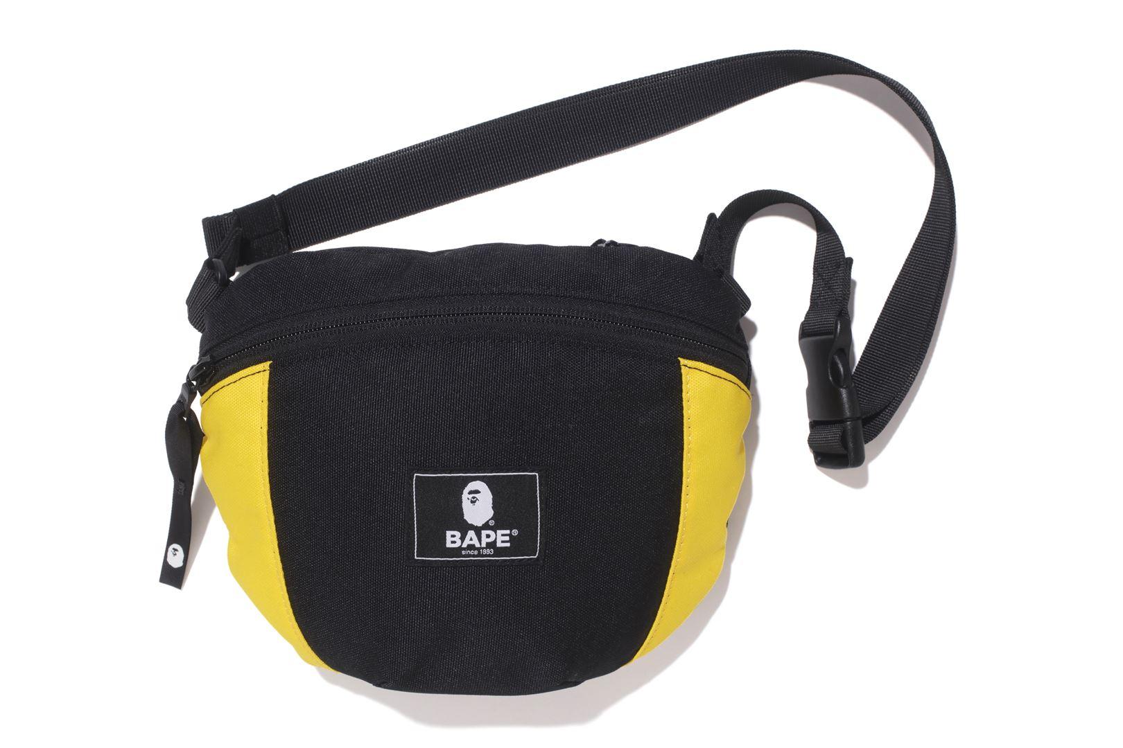 Bape 2tone Shoulder Bag Yellow