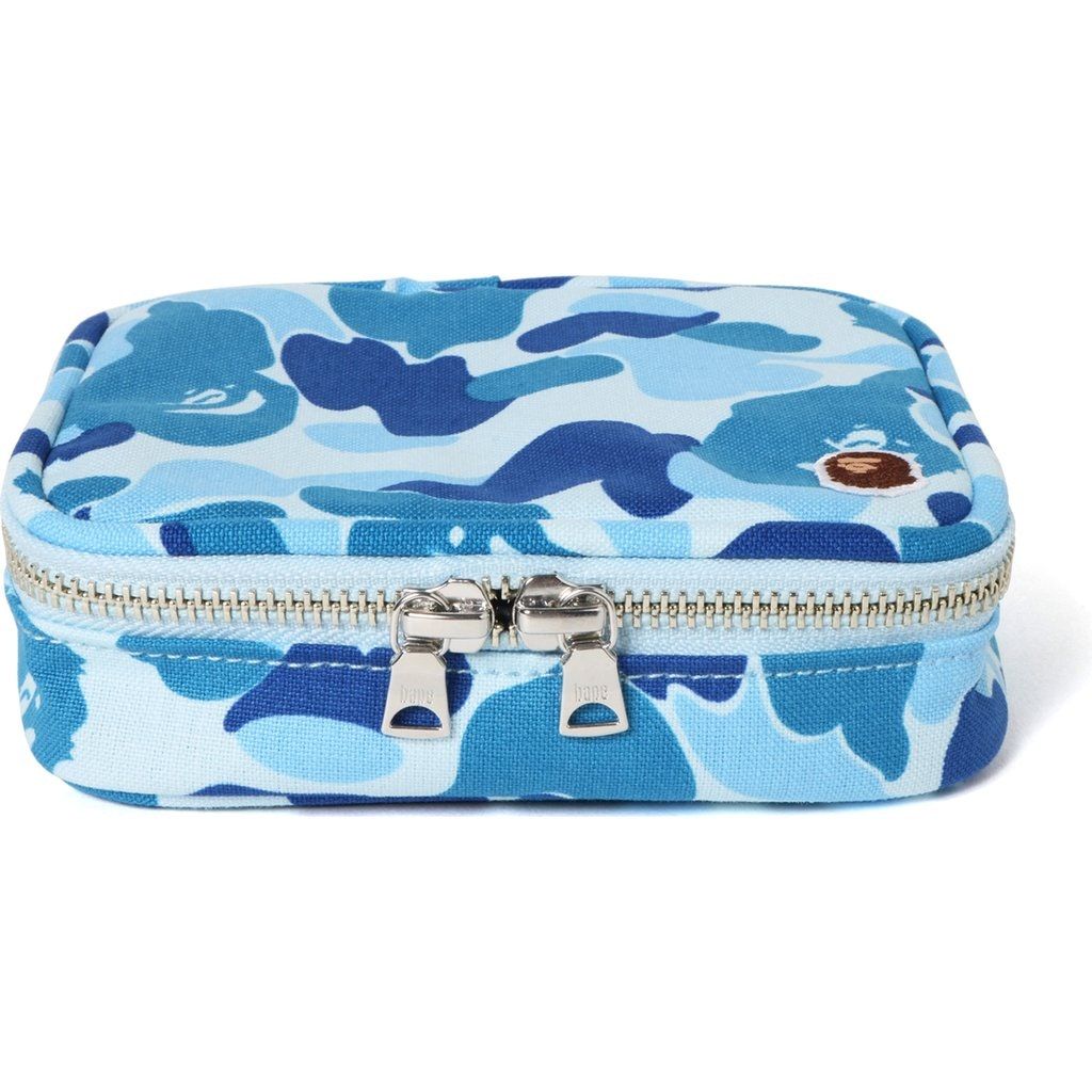 BAPE ABC Amenity Pouch Blue
