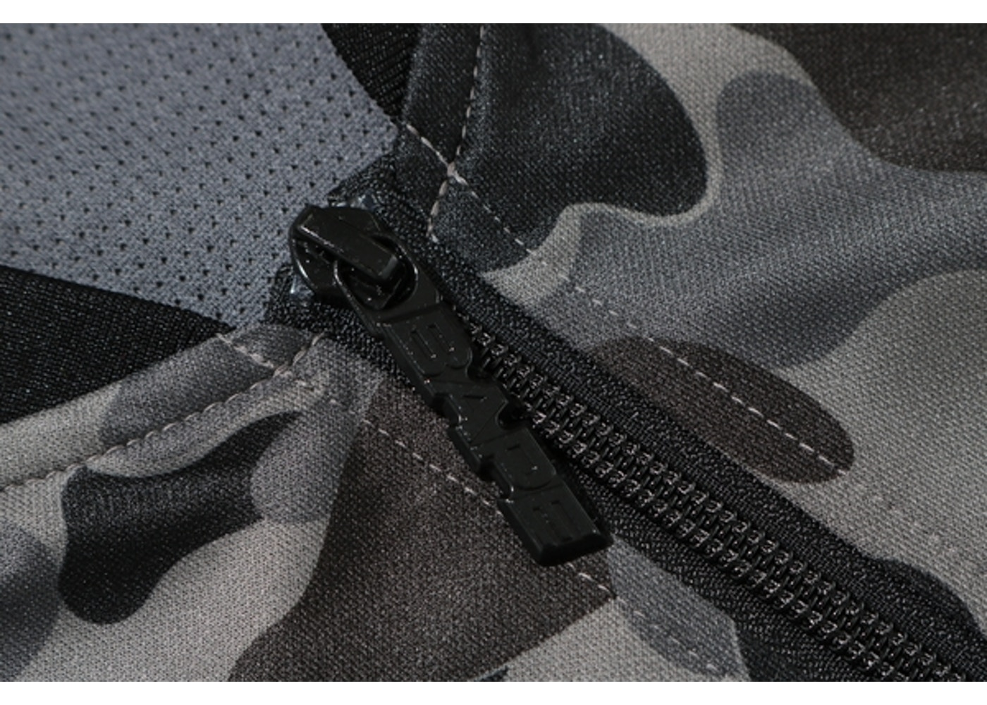 4a80e288 BAPE ABC Bapesta Tape Jersey Top Black - FW19