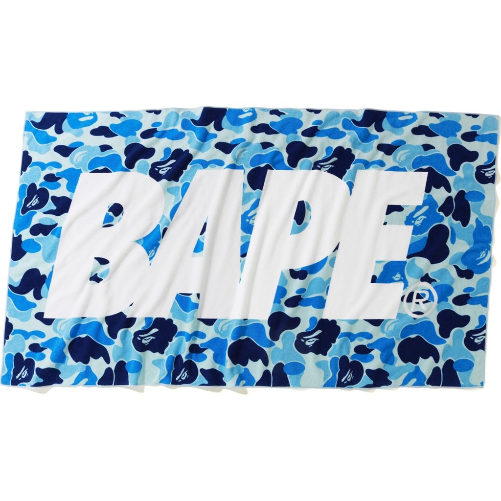 BAPE ABC Beach Towel Blue