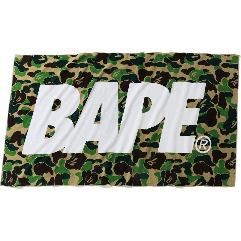 BAPE ABC Beach Towel Green