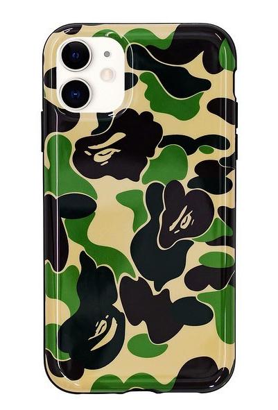 BAPE ABC Camo iPhone 11 Case Green