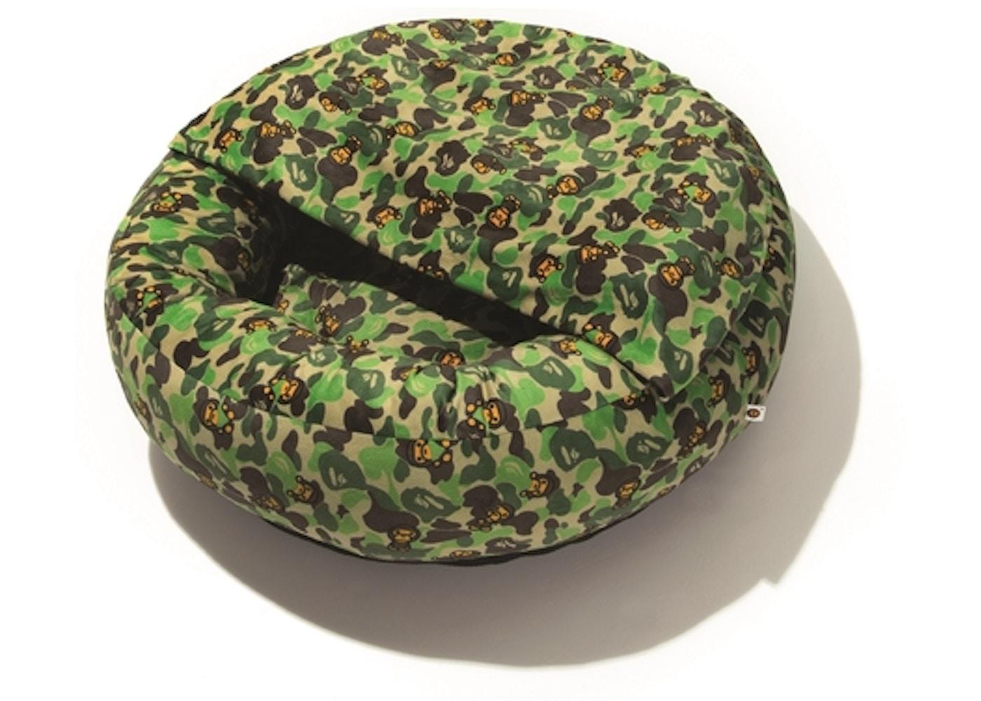 Magnificent Bape Abc Milo Camo Dog Bed Green Evergreenethics Interior Chair Design Evergreenethicsorg