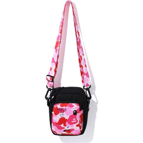 Bape Abc Mini Shoulder Bag Pink