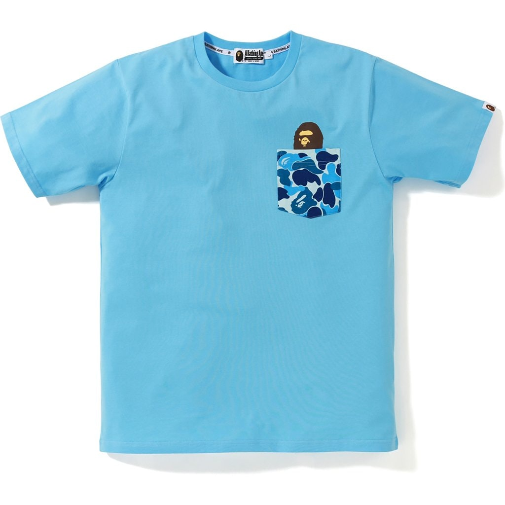 BAPE ABC Pocket Tee Blue/Blue