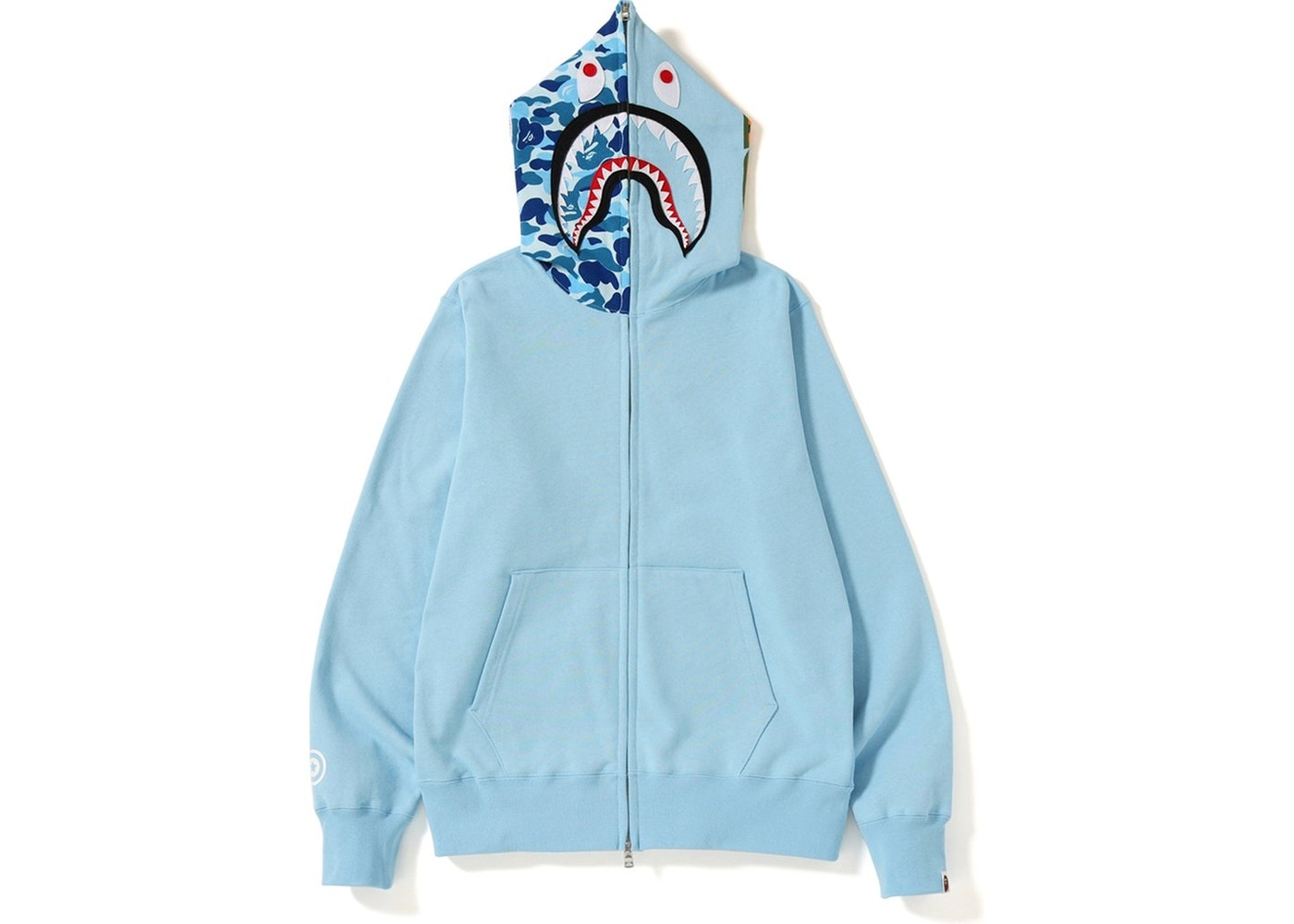 e30c79ab Sell. or Ask. Size: XL. View All Bids. BAPE ABC Shark Full Zip Hoodie  (SS19) Blue