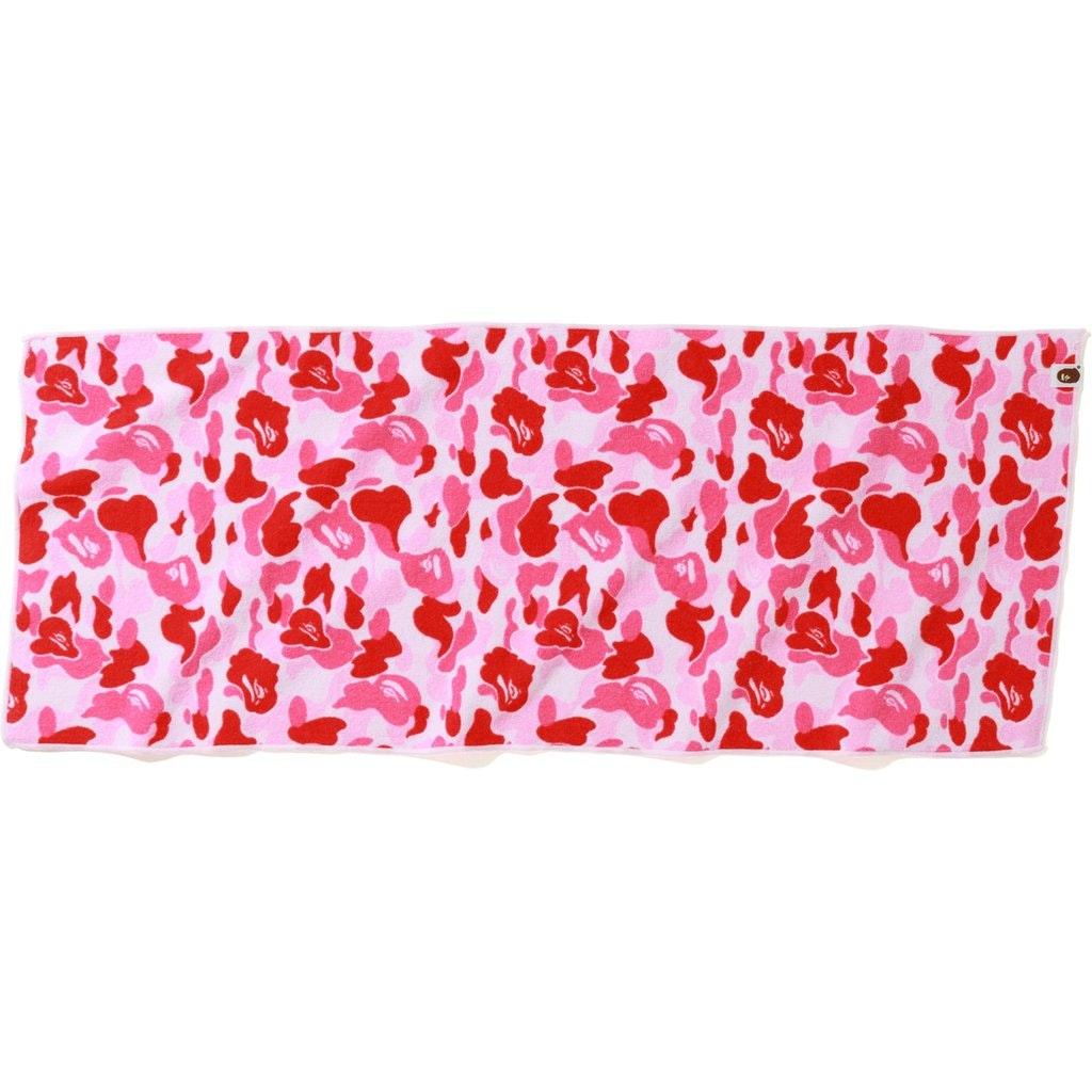 BAPE ABC Sport Towel Pink