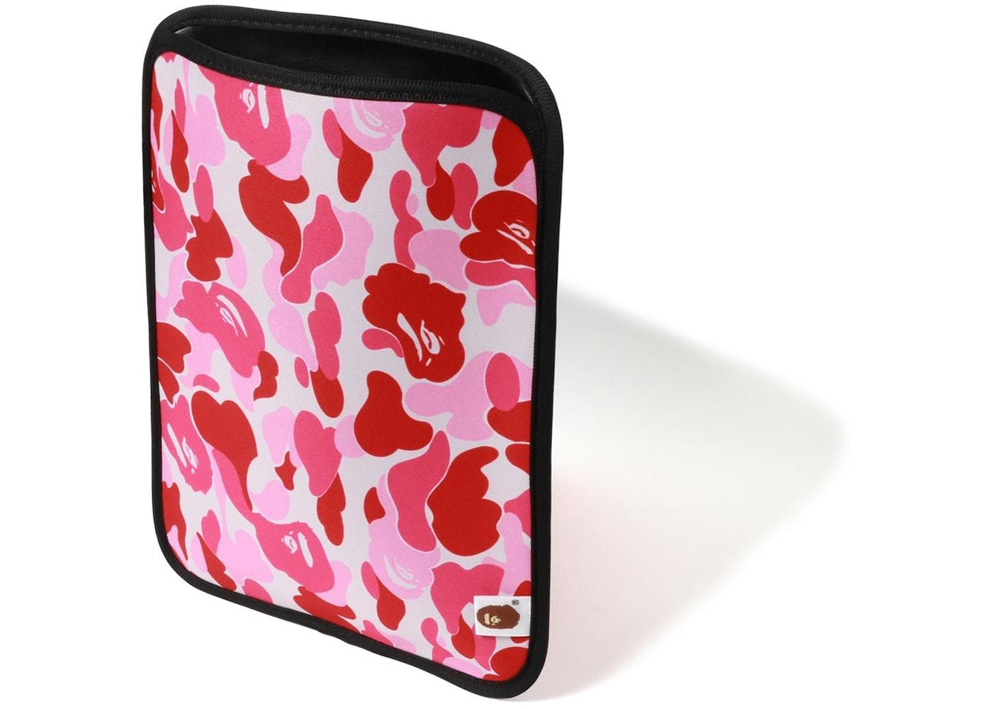 official photos 84015 876d5 BAPE ABC iPad Case Pink