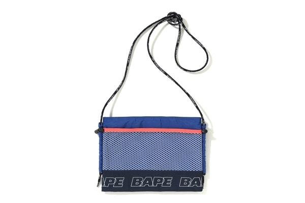BAPE Color Block Sacoche Navy
