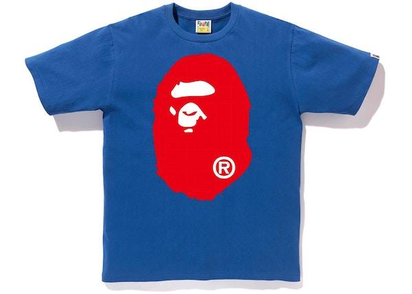 9409ed0e BAPE Colors Big Ape Head Tee (SS19) Blue