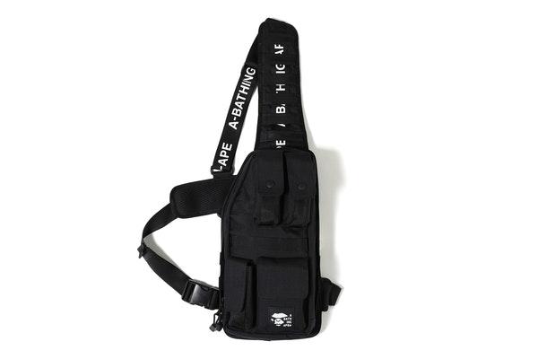 BAPE Cordura Tactical Vest Bag Black