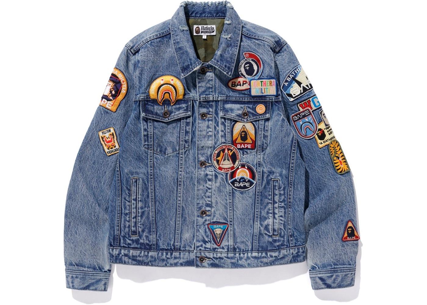 e0d9db59b Streetwear - Bape Jackets - Last Sale