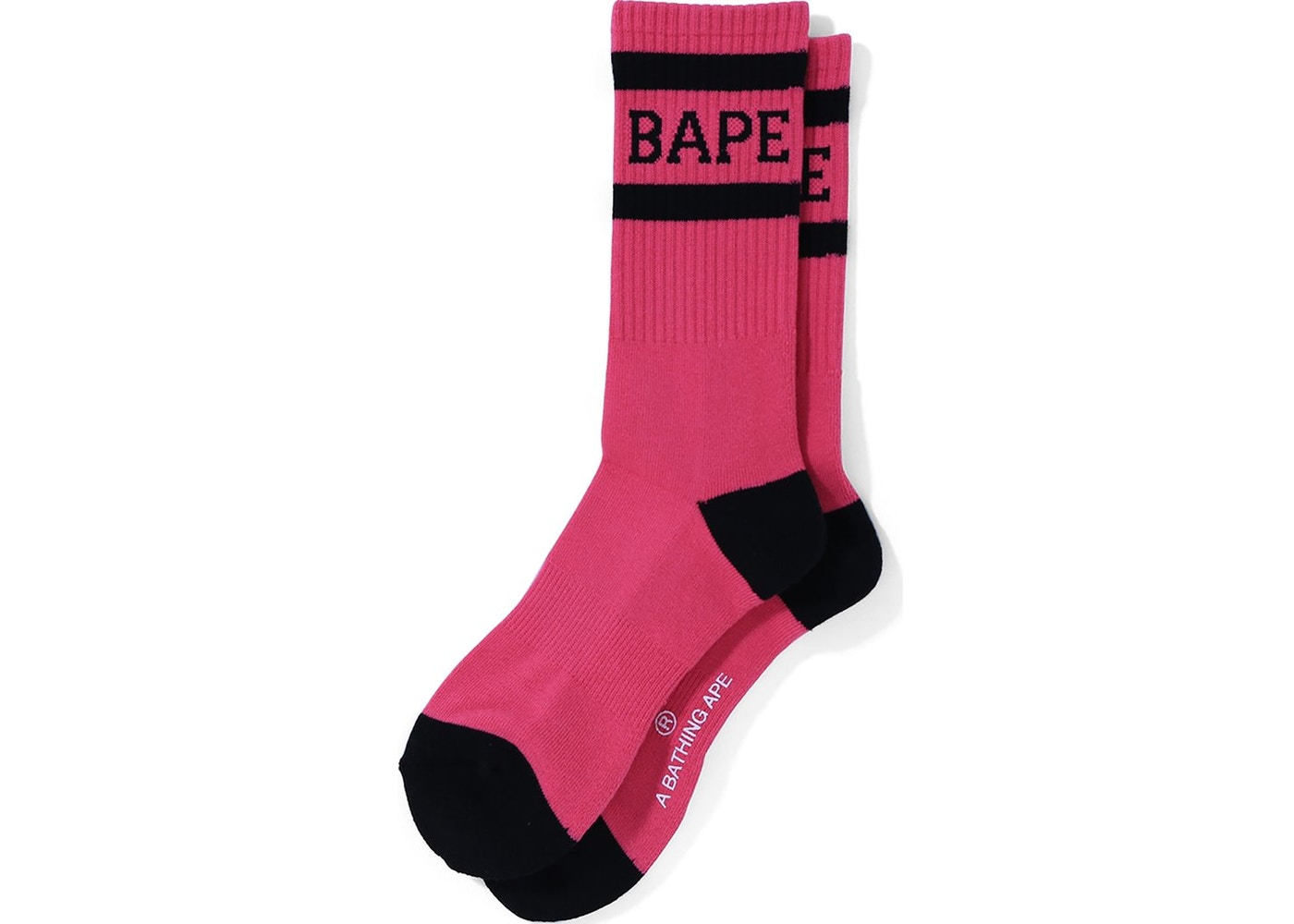 c1cd7b5f2fe24 Sell. or Ask. Size --. View All Bids. BAPE High Socks Pink